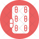 Blister Pack Capsules Drugs Icon