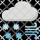Blizzard Avalanche Snow Icon