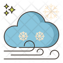 Blizzard Snowfall Snowstorm Icon