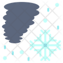 Blizzard Storm Disaster Icon