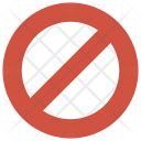 Block Ban Lock Icon