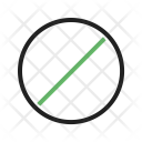 Block No Entry Icon