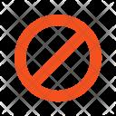 No Entry Sign Icon