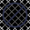 Block No Cancel Icon