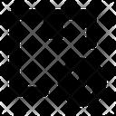 Block Delivery Box Icon