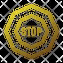 Stop No Enter Block Icon