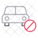 Block Notallowed Vehicle Icon