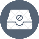 Block Disabled Email Icon