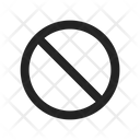 Error Prohibition Forbidden Icon