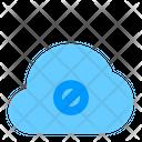 Block Cloud Network Icon