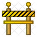 Delimiter Construction Block Icon