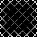 Slash Block Sign Icon