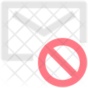 Block Cancel Email Icon