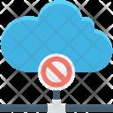 Block Cloud Computing Icon