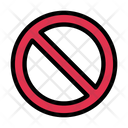 Block Banned Stop Icon