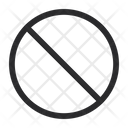 Block Skip Delete Icon