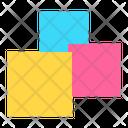 Icon Blocks Abstract Primitive Icon
