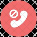 Block Call Communication Icon