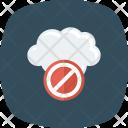 Block Error Warning Icon