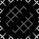 Block Cancel Lock Icon