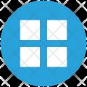 Block Grid View Icon
