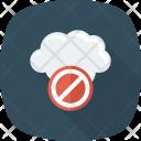 Block Cloud Error Icon