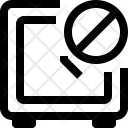 Block Alarm Icon