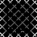Block Archive File Document Icon