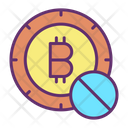 Block Bitcoin Icon