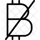 Block Bitcoin Icon