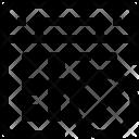 Block Calendar Icon