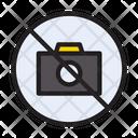Stop Block Camera Icon