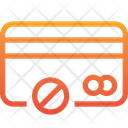 Ban Block Card Credit Card Icon