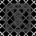 Blockchain Cryptocurrency Finance Icon