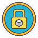 Block chain security Icon