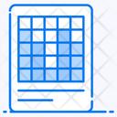 Block Chart Block Graph Block Diagram Icon