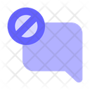 Block Chat Icon