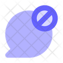Block Chat Block Message Chat Icon