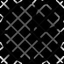 Block Clock Icon