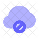Block-cloud Icon