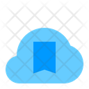 Bookmark Cloud Cloud Network Icon