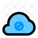Block Cloud Cloud Network Icon