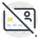 Block Card Sale Icon