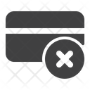 Block Credit Card Icon