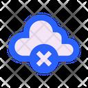 Cloud Off Broken Icon