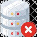 Block Database Remove Database Remove Data Icon