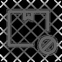 Block delivery Icon
