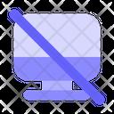 Block Display No Preview No Screen Icon