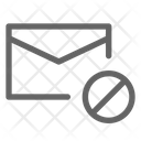 Email Block Mail Icon