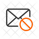 Block Email Mail Icon